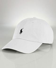 Polo Ralph Lauren Hat - White. This is a very popular piece in the Polo Sport line