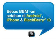 Aplikasi populer bawaan dari Blackberry yaitu BlackBerry Messenger telah bisa di install dan digunakan di Android dan iPhone. Kamu dapat menikmati aplikasi instan messenger tersebut secara gratis tanpa kuota dengan menggunakan TRI AON. Selain di Android dan iPhone kamu juga dapat menikmati BBM secara free di BB 10. Tidak hanya itu, Tri AON juga bisa