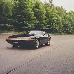 Remember this crazy thing?! #Ferrari #Daytona #shootingbrake shot for @classicdriver #KYCU