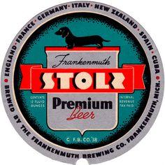 vintage stoli label
