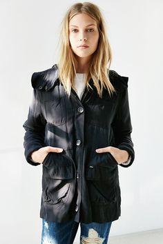OBEY Fairfield Fleece-Lined Hooded Jacket