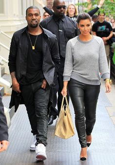 Kim Kardashian's Wardrobe Transformation For Kanye West: Meet Kimye! | Grazia Fashion