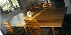 Irish White Oak Dining Table with Rope Edging Seats 12 Fine Furniture, Furniture Design, White Oak Dining Table, Art Direction, Irish, Crafts, Home Decor, Manualidades, Decoration Home