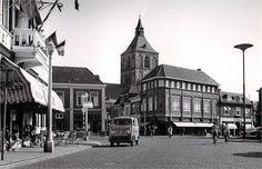 Grote Markt Oldenzaal (jaartal: 1960 tot 1970) Street View, School, Nostalgia