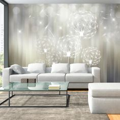 Photo Wallpaper Wall Murals Non Woven Modern Art by GlitterBlast 3d Wallpaper For Walls, Home Wallpaper, Wood Floor Pattern, Apartment Living, Living Room, Home Hacks, Bedroom Decor, Interior Design, Decoration
