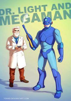 Badass Fanarts - Megaman
