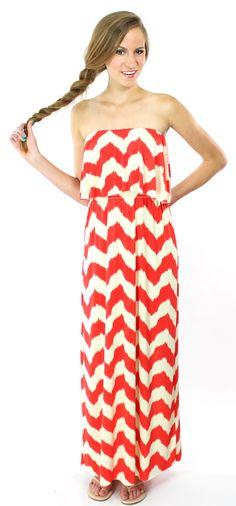 TBags Summer Maxi Dress