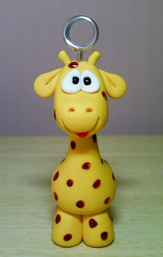 Girafa de Fimo