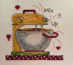 Mixer FINISHED | Mill Hill's Kitchen Collection from Debbie … | Flickr