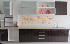 Modern Brown Kitchen  Cabinets