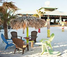 Margaritaville Pensacola... with the Landshark Landing Restaurant which is a popular Beach Wedding Destination! Featured on BBL: http://beachblissliving.com/jimmy-buffetts-margaritaville-beach/