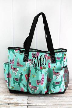 Turquoise White Quatrefoil Classic Pattern Custom Waterproof Travel Tote Bag Duffel Bag Crossbody Luggage handbag