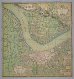 Plan de Bordeaux et de ses Environs - Hippolyte Matis