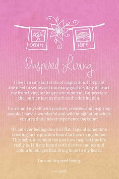 Inspired Living - CarlyMarie