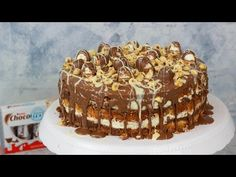 Kinder Choco Fresh Torte - Haselnuss Torte - YouTube