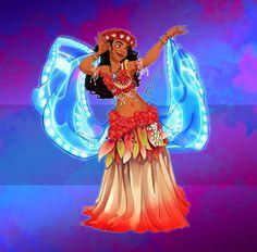 princesas-disney-dança-do-ventre-3