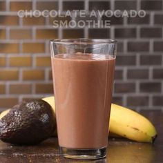 3-ingredient Chocolate Avocado Smoothie Recipe by Tasty