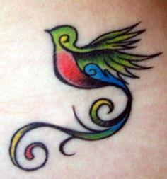 Tatuaje de Quetzal
