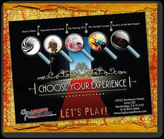 Choose YOUR Escape Experience from 1 of 5 Challenging Rooms at Amazing Escape Room Los Angeles!