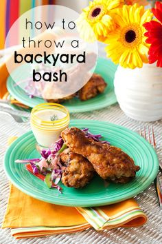 Throw a fun backyard bash for family and friends with these easy, affordable recipes.