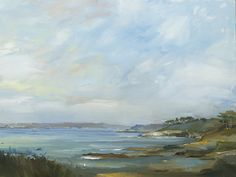 David Atkins, Spring Morning from St Anthony's Head, Cornwall