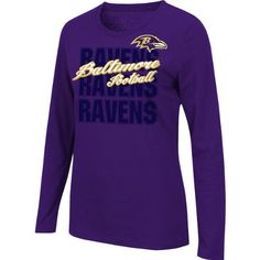 Baltimore Ravens Touchback V Full Zip Hoodie - Black