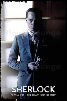 Poster von Sherlock - Moriarty