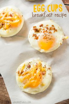 Easy Breakfast Egg Cups Recipe