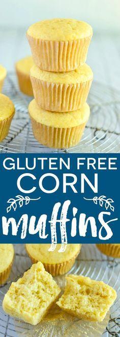 Easy Gluten Free Corn Muffin recipe from /whattheforkblog/ |gluten free and dairy free | http://whattheforkfoodblog.com