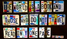 who said the world is a book and those who do not travel read only a page - Google Search