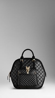 The Orchard in Quilted Nappa Leather | Burberry