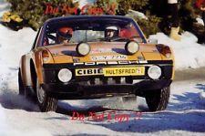 Bjorn Waldegard Porsche 914 6 Monte Carlo Rally 1971 Photograph 1