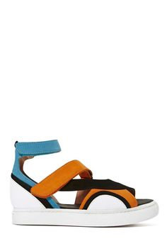 Jeffrey Campbell Workout Sandal | Shop Shoes at Nasty Gal