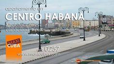 Centro Habana. Apartamento frente al Malecón de La Habana