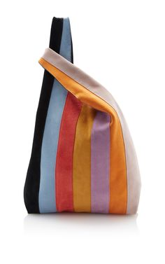 Striped Suede Shopper by HAYWARD Now Available on Moda Operandi