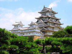 姫路城の天守閣・世界遺産国宝 姫路城