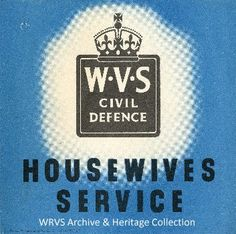 royal voluntary service on pinterest history housewife