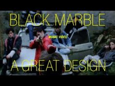 Black Marble / A Great Design Indie Music, Music Songs, Music Videos, Rough Trade Records, Black Song, Black Marble, Editor, Ears, Thankful
