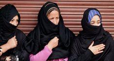 Kashmiri Shiite Muslim women participate in a Muharram procession in Srinagar, India