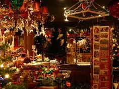 Johann Wanner Christmas Shop, Basel