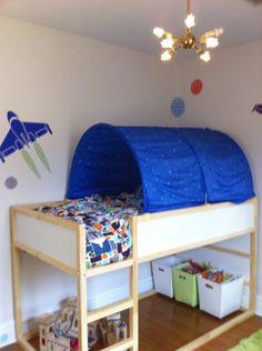 kid beds ikea kids bed and ikea kids on pinterest. Black Bedroom Furniture Sets. Home Design Ideas