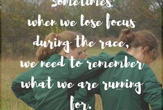 When we learn to run together…