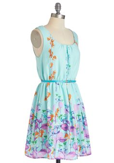 Ring the Bell Flower Dress, #ModCloth