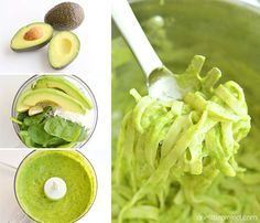 This creamy avocado pasta TASTES AMAZING, it's healthy and it so easy to make! Creamy delicious goodness without any actual cream! I wish I had tried it sooner! Creamy Avocado Pasta, Creamy Pasta Recipes, Easy Recipes, Cooking Recipes, Healthy Meals, Healthy Eating, Healthy Recipes, Vegetarian Meal Prep, Vegetarian Recipes