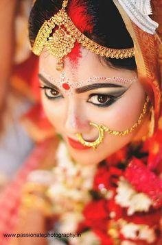 39 Ideas for indian bridal nose ring bengali bride Bengali Bridal Makeup, Bengali Wedding, Bengali Bride, Indian Bridal, Wedding Couple Poses Photography, Bridal Photography, Bridal Wedding Dresses, Bridal Pics, Wedding Bride
