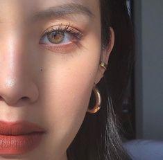 makeup details from my live - lips: aqua lip + mattemoiselle jewelry: x Cute Makeup, Makeup Art, Makeup Eyeshadow, Hair Makeup, Beauty Make-up, Beauty Hacks, Hair Beauty, Make Up Geek, Asian Makeup