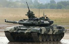 Russian T-90 Tank