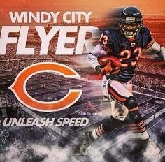 HESTER #23 Bears Football, Football Team, Devin Hester, Game Face, Best Player, Next Week, Chicago Bears, Captain America, Dads