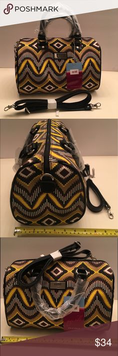 NEW GIGI HILL LOS ANGELES SPEEDY BAG New Gigi hill speedy bag / color: brown and yellow/ size Small / No Weekend shipping!!! Thank you!!! gigi hill los angeles Bags