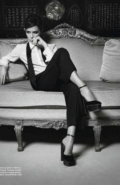 Victoria Beckham for French Elle - November 2012